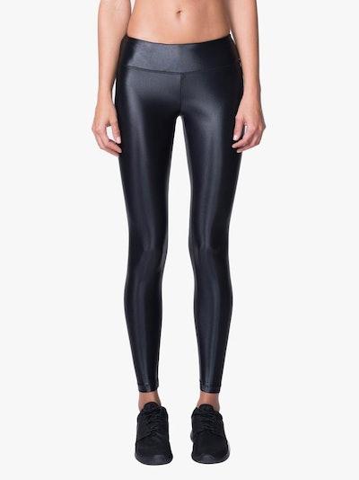 Lustrous Leggings In Black