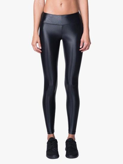 Lustrous Leggings In Black