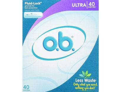 o.b. Non-Applicator Ultra Tampons (40 Count)
