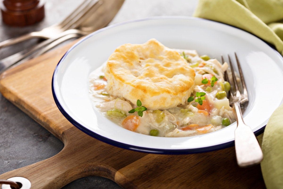 This Easy Instant Pot Chicken Pot Pie Recipe Is The Perfect Weeknight Pi Day Meal