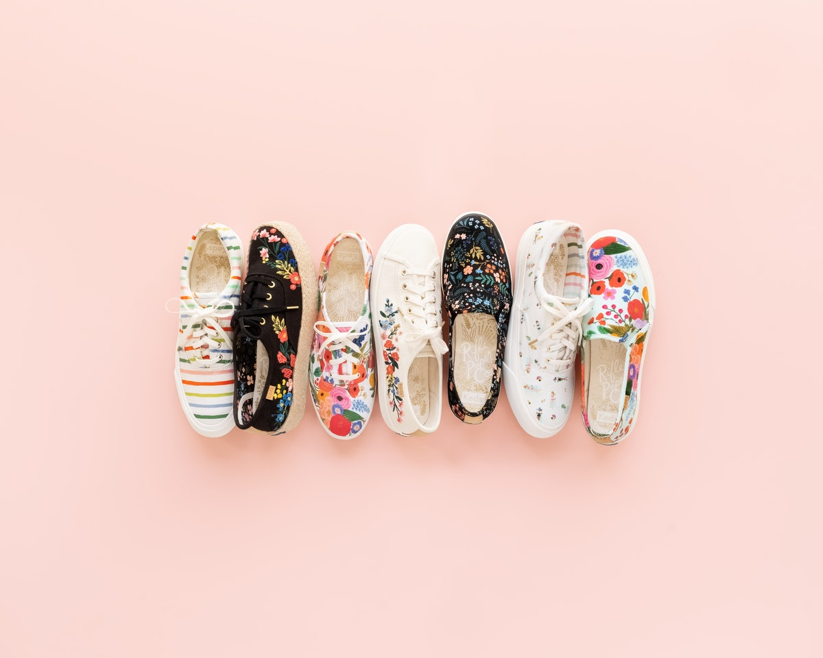 This Keds x Rifle Paper Co. Collaboration Will Put A Major Spring In Your Step