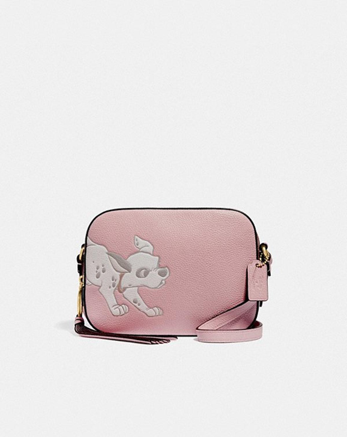 Disney X Coach Camera Bag With Dalmatian