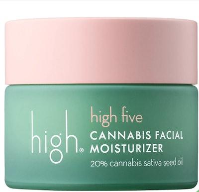 High Five Cannabis Seed Facial Moisturizer