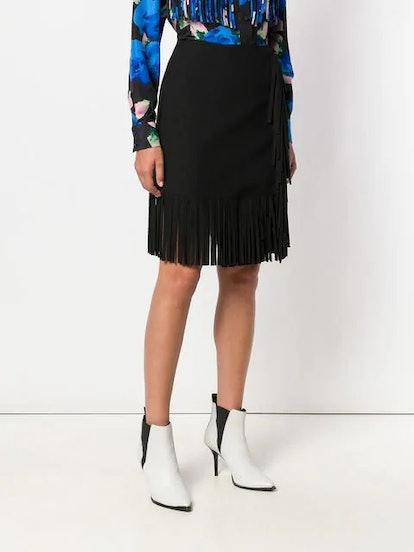 Short Fringe Skirt