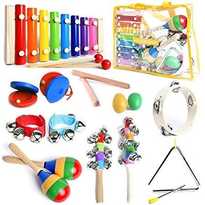 SMART WALLABY ASTM Certified Musical Instruments Set with Xylophone for Kids
