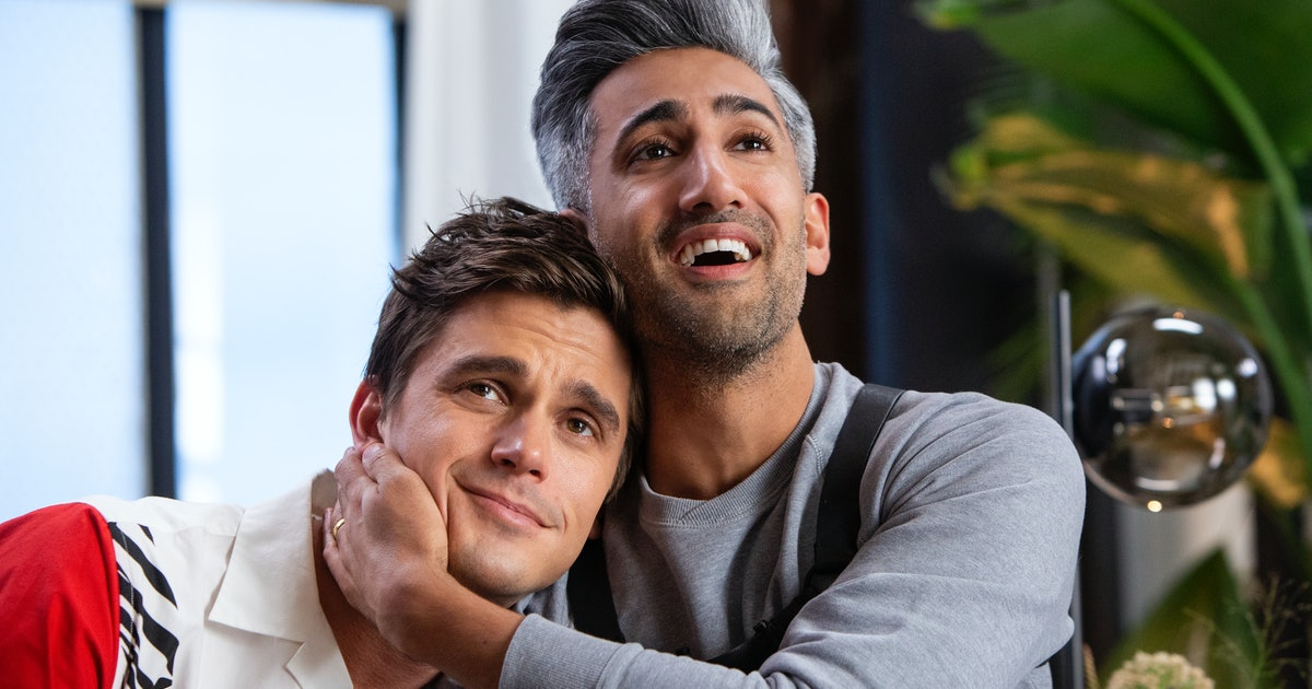 the 39 queer eye 39 couples from season 3 pay homage to 39 when harry met sally 39. Black Bedroom Furniture Sets. Home Design Ideas