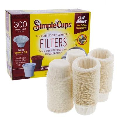 SIMPLECUPS Disposable Filters