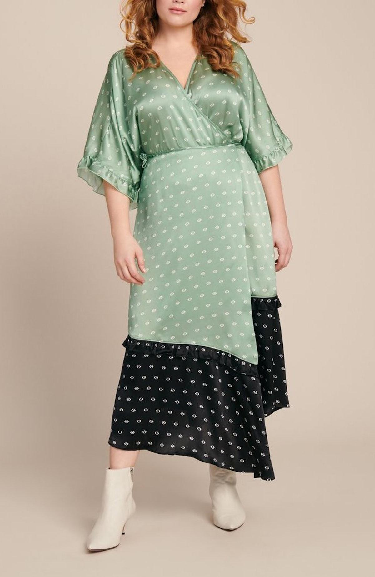 Tuscan Printed Silk Dress