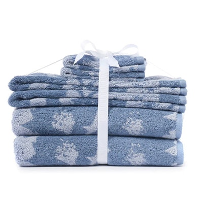 LC Lauren Conrad Floral 6-Piece Towel Set