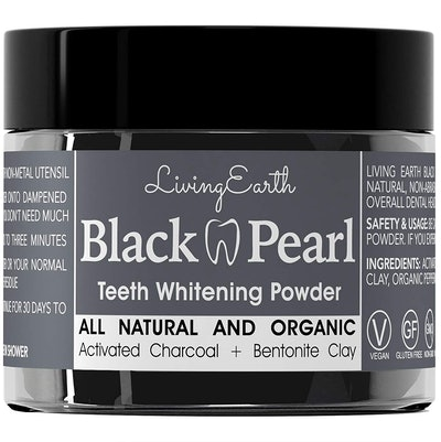Black Pearl Activated Charcoal Whitening Powder