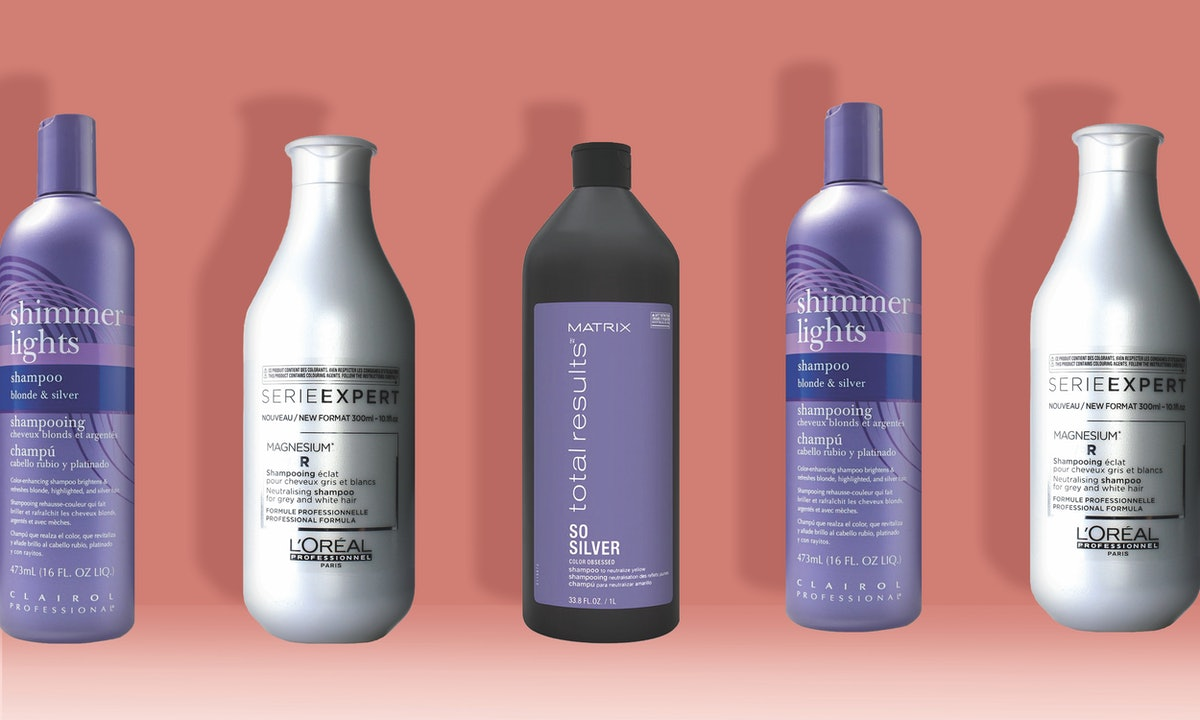 The 4 Best Purple Shampoos For Silver Hair