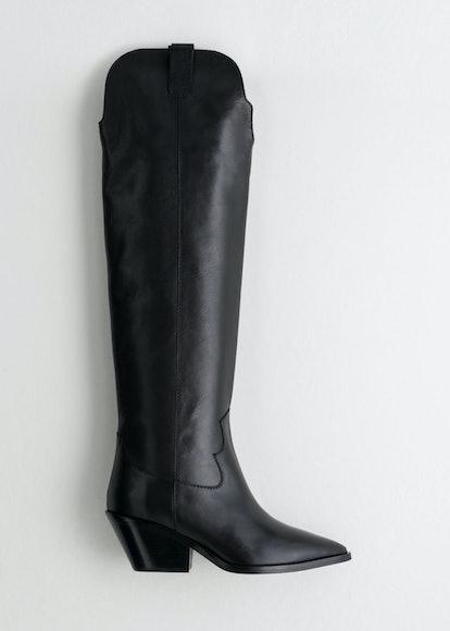 Knee High Cowboy Boots