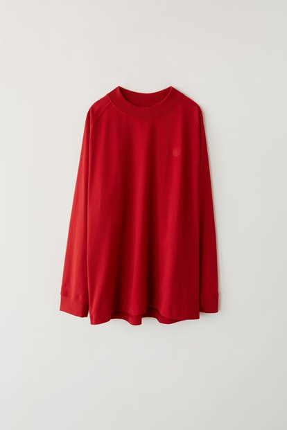 Light sweatshirt cardinal red