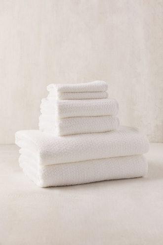Everplush 6-Piece Diamond Jacquard Bath Towel Set
