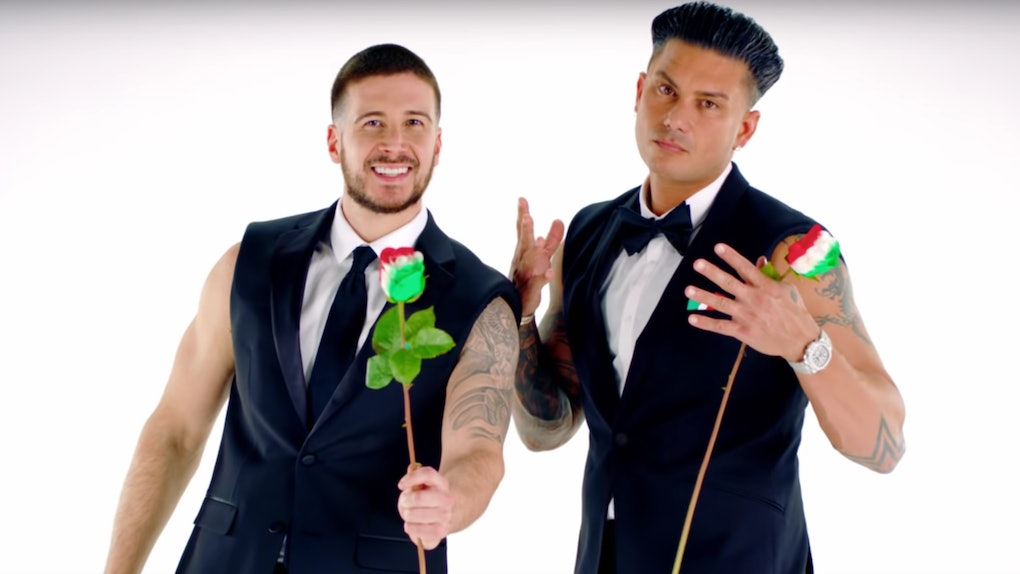 The Promo For Pauly D Vinnys Double Shot At Love Is Everything Youve Ever Needed