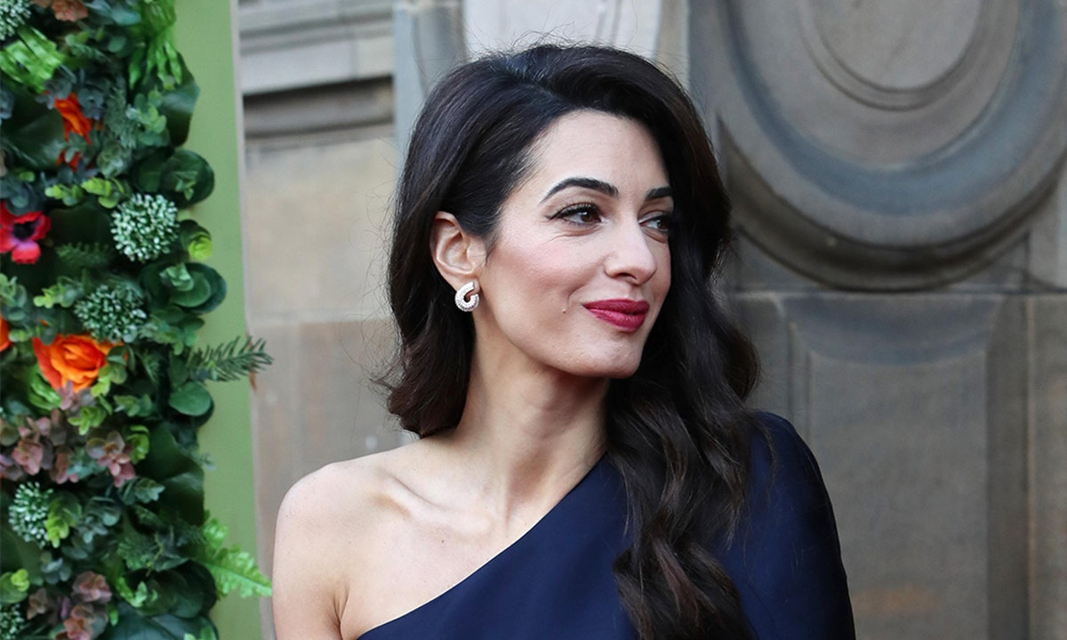 Amal Clooney's Blue Jumpsuit Is The Perfect Piece To Wear To A Spring Wedding