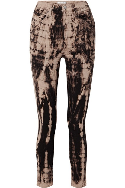 The Tie Dye Domino High-Rise Skinny Jeans