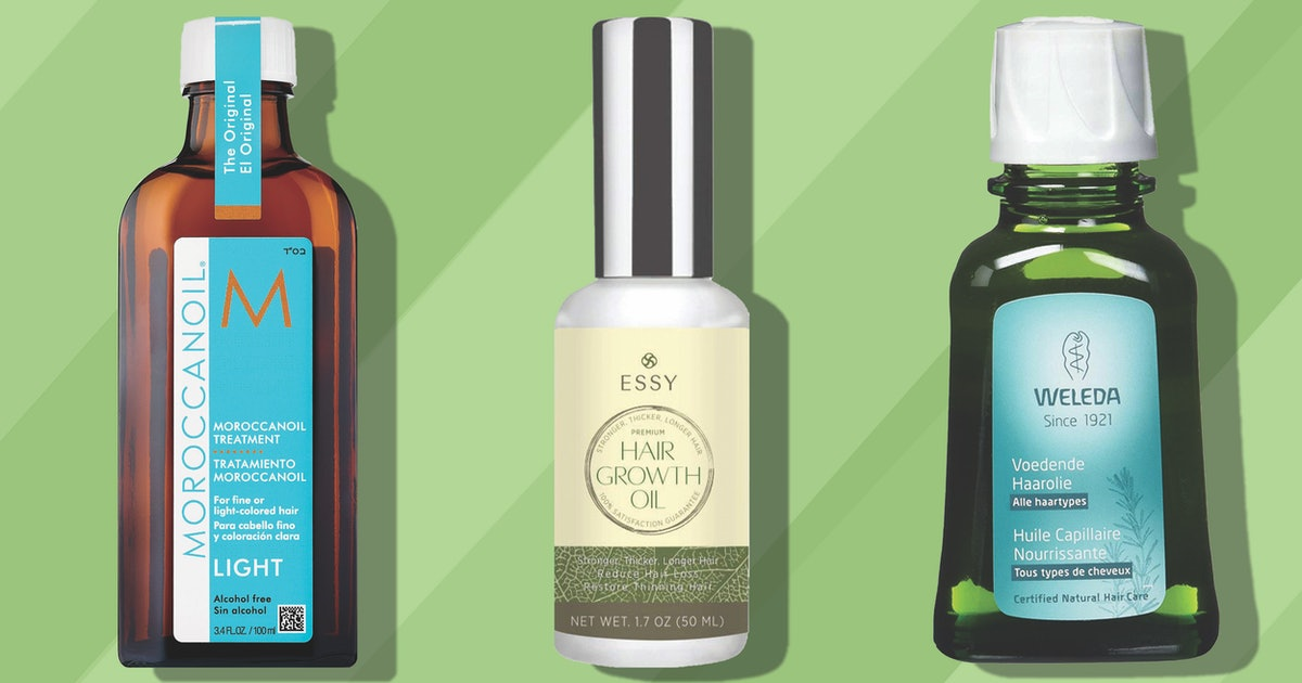 The 5 Best Hair Oils For Thin Hair