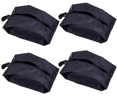 MISSLO Nylon Travel Shoe Bags (4 Pack)