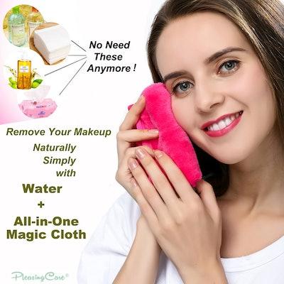 PleasingCare Makeup Remover Cloth Clean Towel