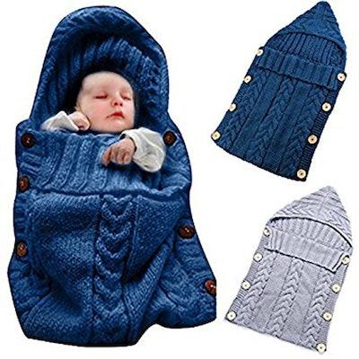 Oenbopo Newborn Baby Wrap Swaddle Blanket