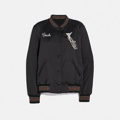 Disney X Coach Reversible Varsity Jacket