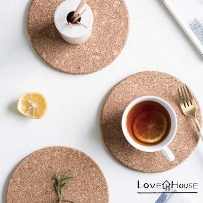 LoveInTheHouse Cork Coasters