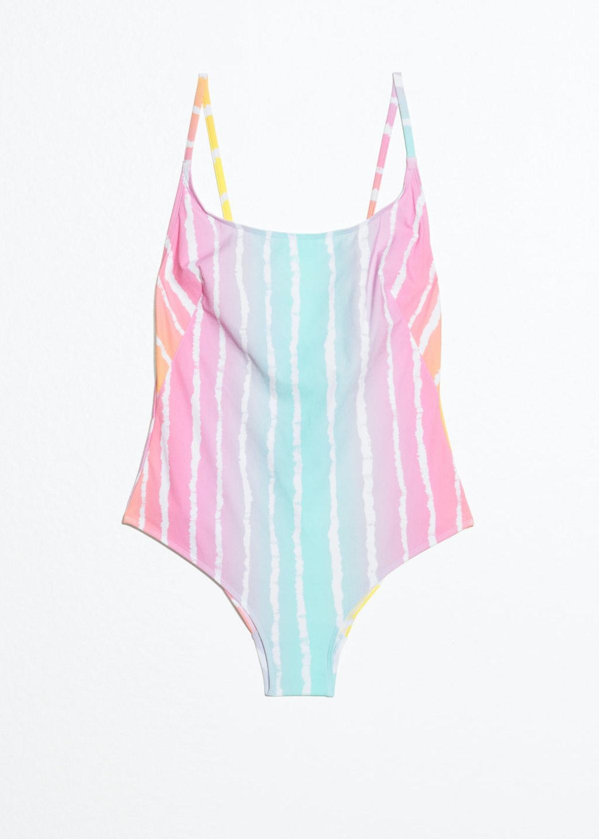 Low Back Tie Swimsuit