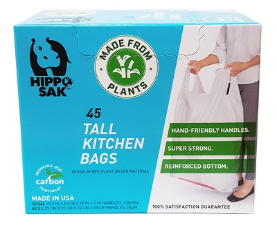 Hippo Sak Tall Kitchen Bags With Handles