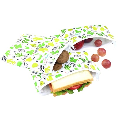 Langsprit Reusable Sandwich & Snack Bags