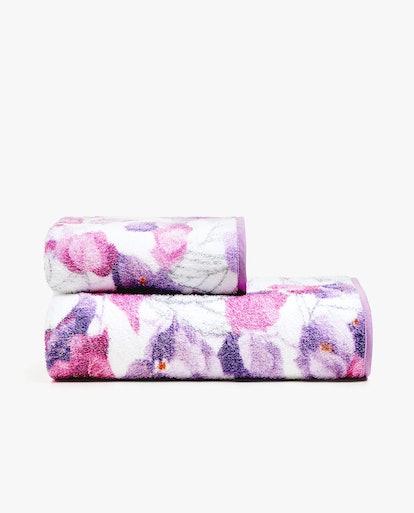 Floral Print Towels