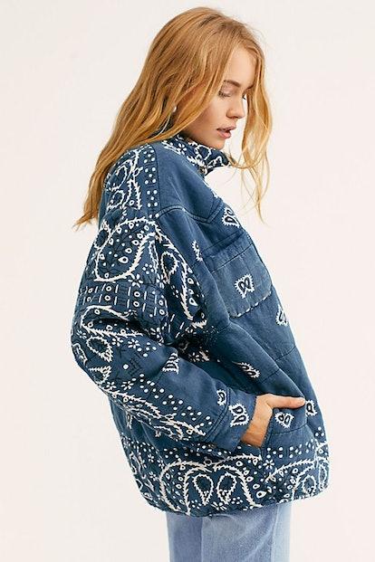 Bandana Puff Jacket