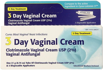Clotrimazole 3-Day Vaginal Cream (2-Pack)