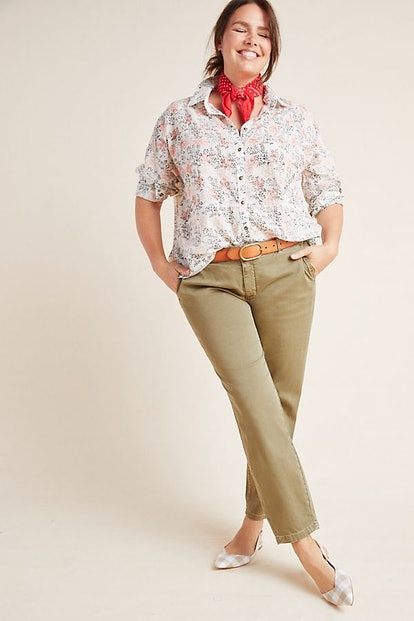 Chino by Anthropologie Relaxed Chino Pants