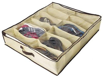 Ziz Home Under Bed Shoe Organizer