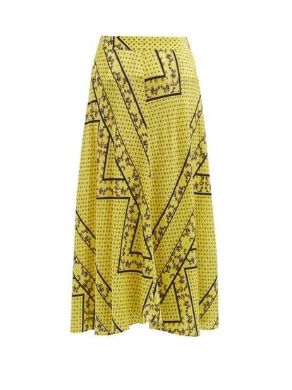 Hemlock Bandana-Print Skirt
