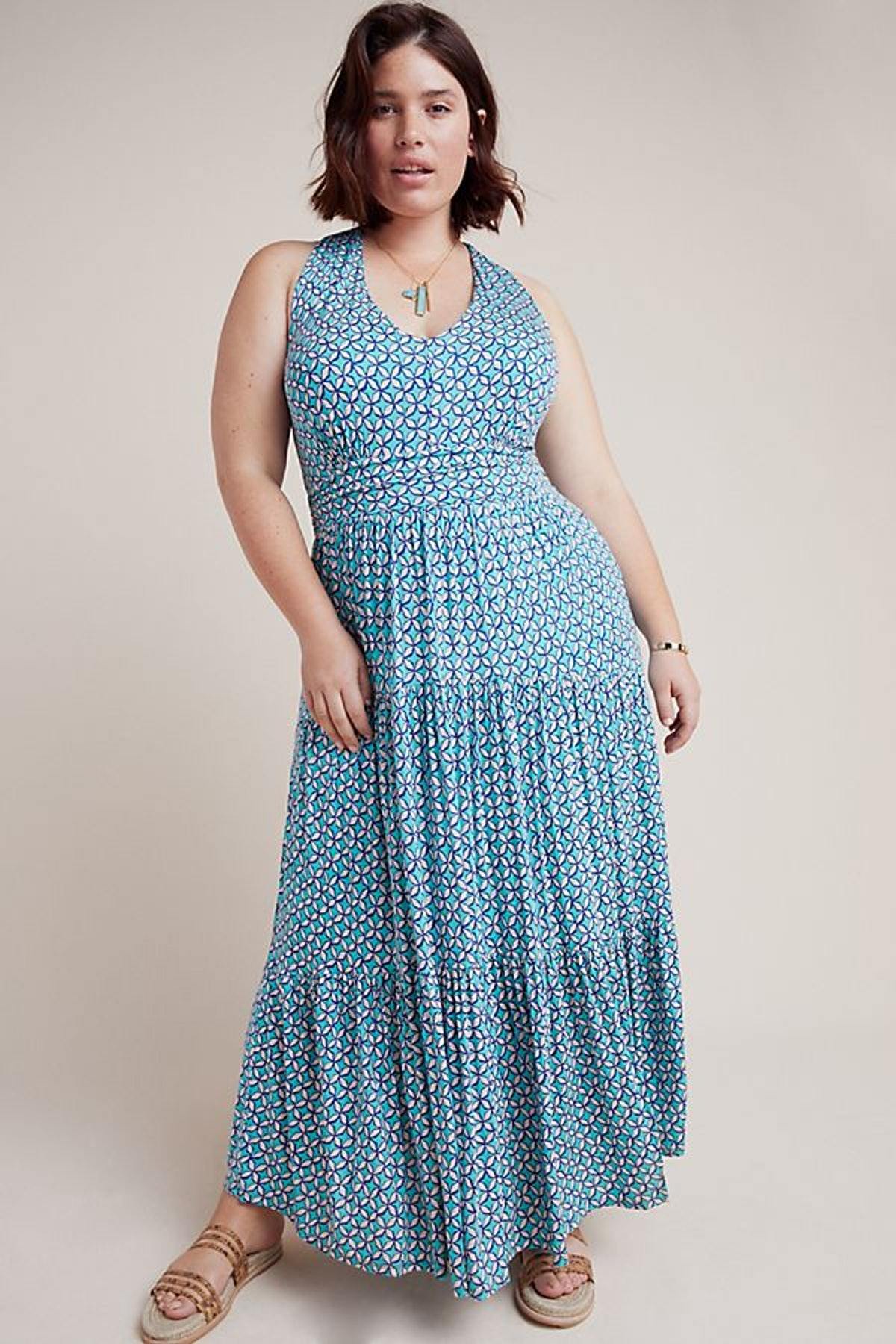 Mabel Halter Maxi Dress