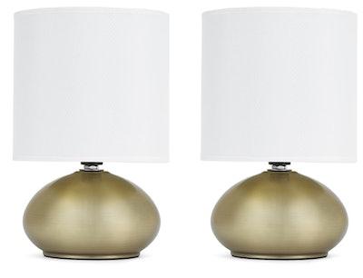 Crista Mini Ancient Lamps, Brass