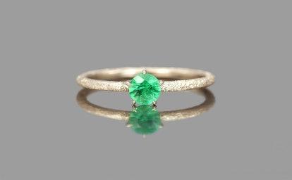 Emerald Stardust Ring