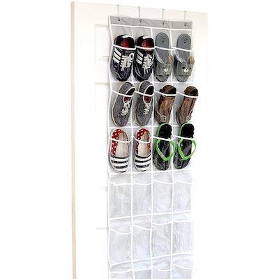 Simple Houseware Over-The-Door Hanging Shoe Organizer