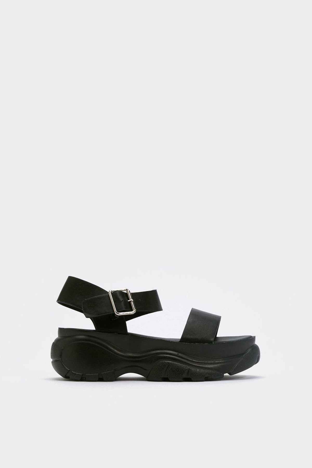Strappy and You Know It Chunky Platform Sandals