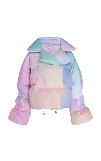 Tie-Dye Puffer Jacket