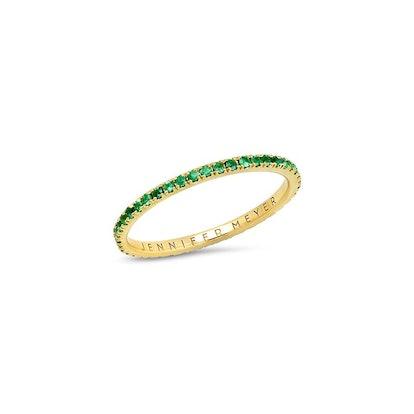 Emerald Eternity Band