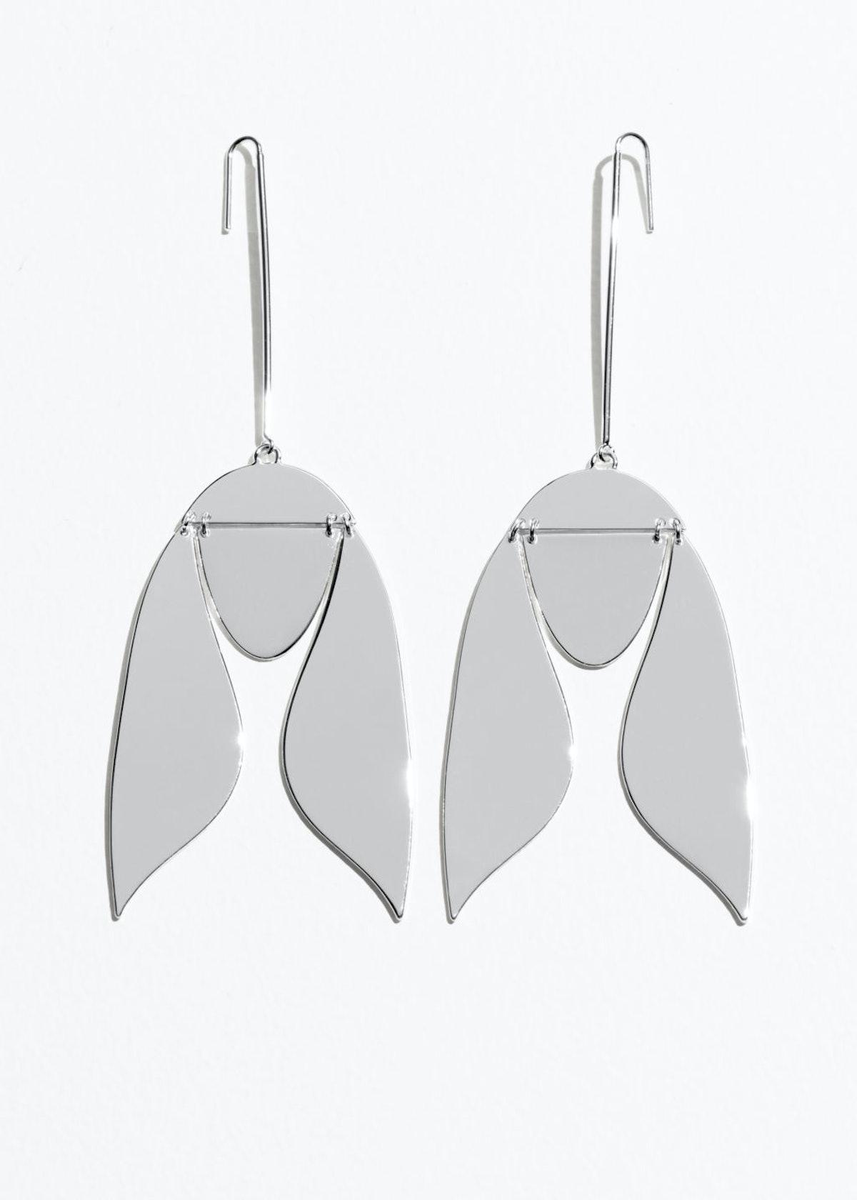 Hanging Tulip Earrings