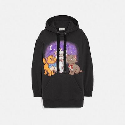 Disney X Coach Aristocats Oversized Hoodie