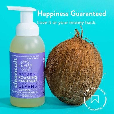 Cleancult Lavender Natural Foaming Hand Soap