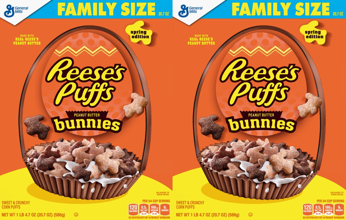 This Reese's Puffs Bunnies Cereal For Easter 2019 Is The Cutest Breakfast Ever