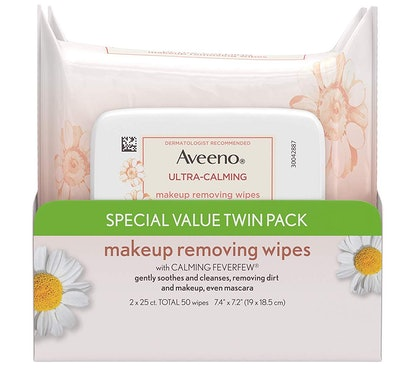 Aveeno Ultra-Calming Makeup Removing Wipes (2 Pack)