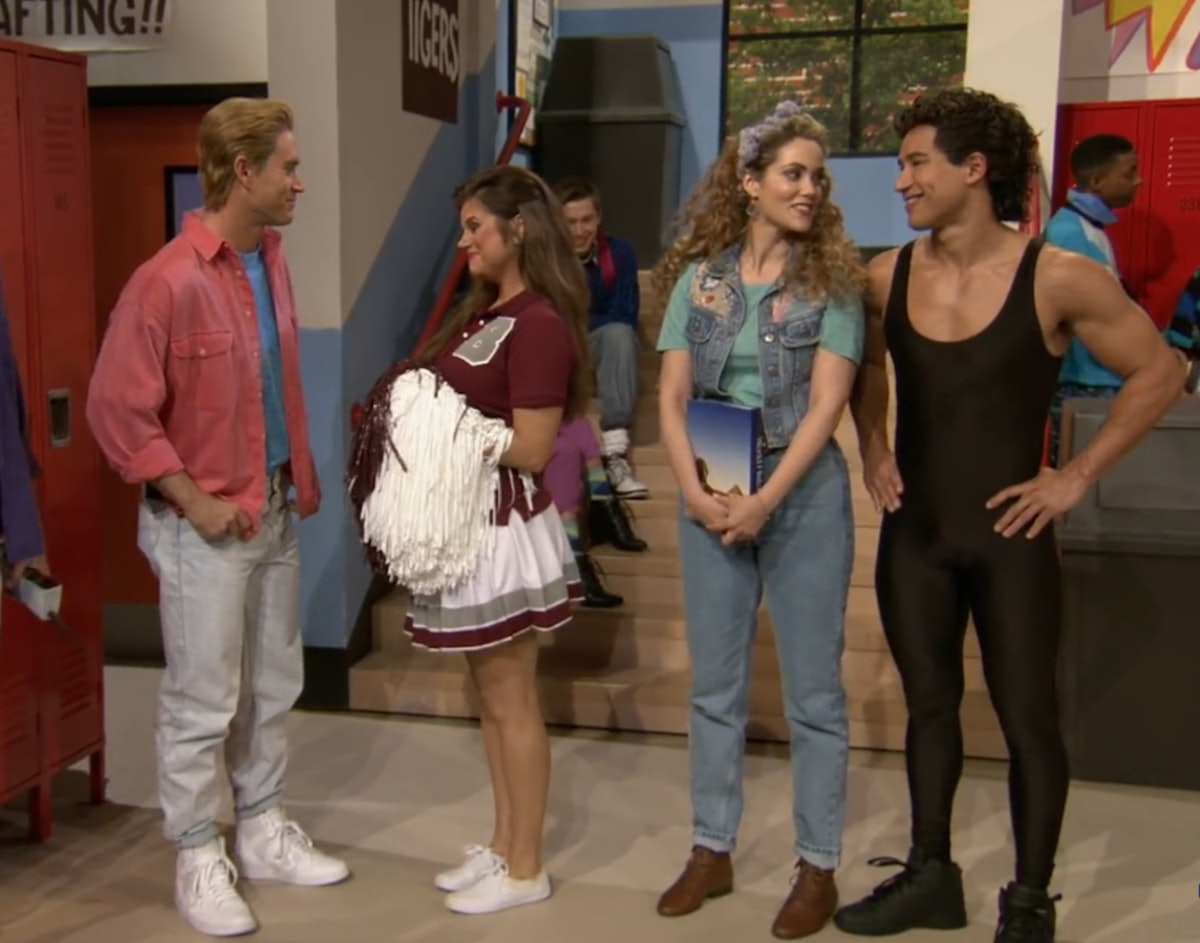 This Mini 'Saved By The Bell' Reunion Photo Shows Zack and Slater Are Just As Tight As They Were At Bayside