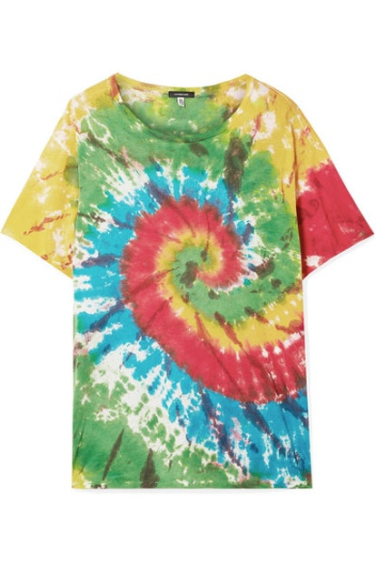 Oversized Tie-Dyed T-shirt